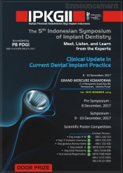 The 5th Indonesian Symposium of Implant Dentistry