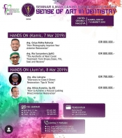 Sense of Art in Dentistry - PDGI Batam
