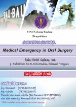 Medical Emergency in Oral Surgery