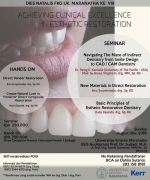 ACHIEVING CLINICAL EXCELLENCE IN AESTHETIC RESTORATION
