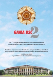The 2nd Gadjah Mada Denstistry Scientific Conference