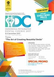 Indonesia Integrated Dental Course 2017