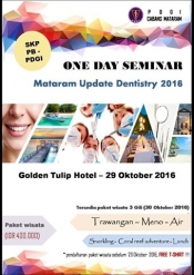 Mataram Update Dentistry 2016
