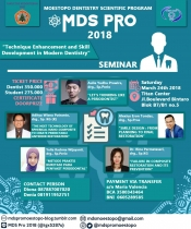 Moestopo Dentistry Scientific Program (MDS PRO) 2018