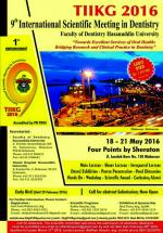 The 9th International Dentistry Scientific Meeting