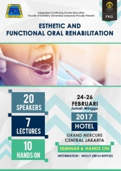 ESTHETIC AND FUNCTIONAL ORAL REHABILITATION