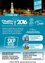 The 3rd Dream (Dental Research Exhibition and Meeting) 2016